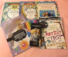 Coloring Books & Art Pencils/Markers