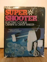 Wear-ever Super Shooter Electric cookie canape and candy maker