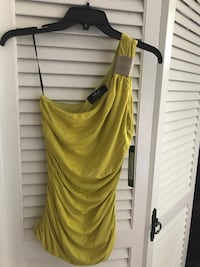One shoulder top, never been used, beautiful style, color and quality. Springfield, 22150