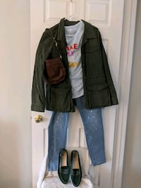 Outfit Bundle: Jacket, Top, Pants, Shoes, + Purse  Leesburg, 20176