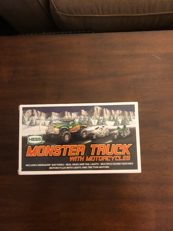 2007 Hess Monster Truck w/ Motorcycles