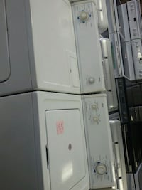 white washer and dryer set 784 km