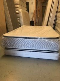 Brand New (Full Size) 18inch Thick Double Sided Pillowtop Cushion Medium Firm Mattress Set Norfolk, 23523