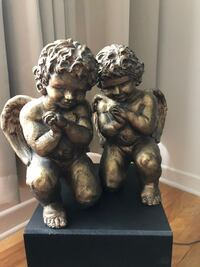 Cherub angel book ends