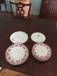 Johnson Bros, England. 4 dinner plates, 8 salad pl Hagerstown, 21740