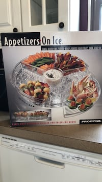 Appetizers on Ice Revolving Tray, brand new FREDERICK