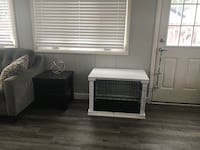 White furniture medium pet crate Glenview, 60025