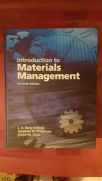 INTRODUCTION TO MATERIALS MANAGEMENT Mississauga, L4T 3S2