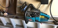 Black and blue corded power tool Macdonald, R0G 0A2