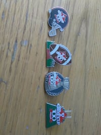 224-(56)COMPLETE CFL100TH GREY CUP FOOTBALL PINS Pickering, L1V 3V7