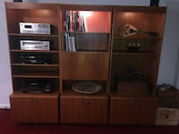 Teak Sectional Wall-unit Markham