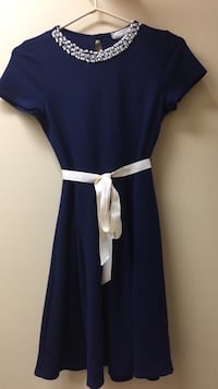 Girls blue dress size XLarge or 16 youth Vaughan, L4L 6A9