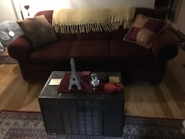 Nice Red Couch