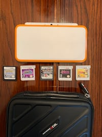 Nintendo 2DS XL with games