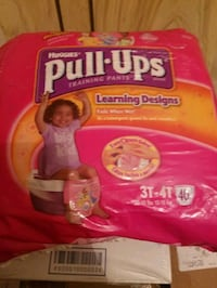 Huggies pull ups princess training diapers size 3t 4 t