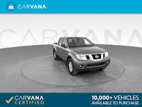 2017 Nissan Frontier Crew Cab pickup SV Pickup 4D 5 ft Gray