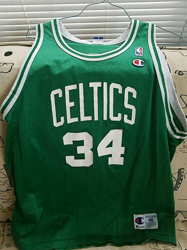 best loved 15d66 ff5a6 Paul Pierce Celtics Jersey