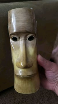vase shaped as a man's face from Hawaii  Queens, 11364