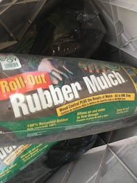 Rubber Mulch roll outs