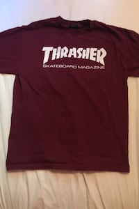 Thrasher Maroon coloured t-shirt Winnipeg, R2N 3T6