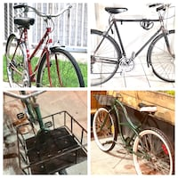 Classic Vintage Fully Restored Bicycles for men and women. Toronto, M4X 1G2