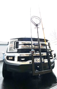 Lock and loaded reel and rod holder