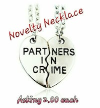 Fun Novelty Necklace 2pc New