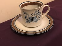 12 Piece Salem Stoneware Cup And Saucer with plates Fort Washington, 20744