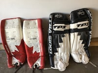 Hockey goalie equipment/pads