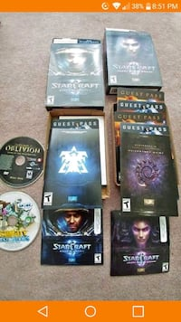 STARCRAFT Wings Of Liberty & Heart Of The Swarm 4