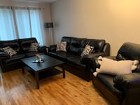 Leather 3 piece sofa in very good condition  Vaughan, L4L 1H8