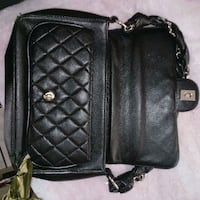quilted black leather crossbody bag Las Vegas, 89110