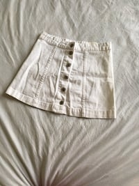 White button up a-line skirt Cambridge, N1P 1G4
