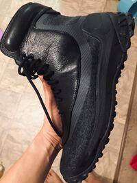 pair of black Nike running shoes Edmonton, T6H 5J2