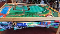 green and blue imagination train table in very good condition!  Hamilton, L8J