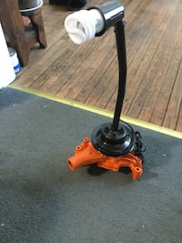 Great condition repurposed chevy water pump parts  made into a lamp work as should
