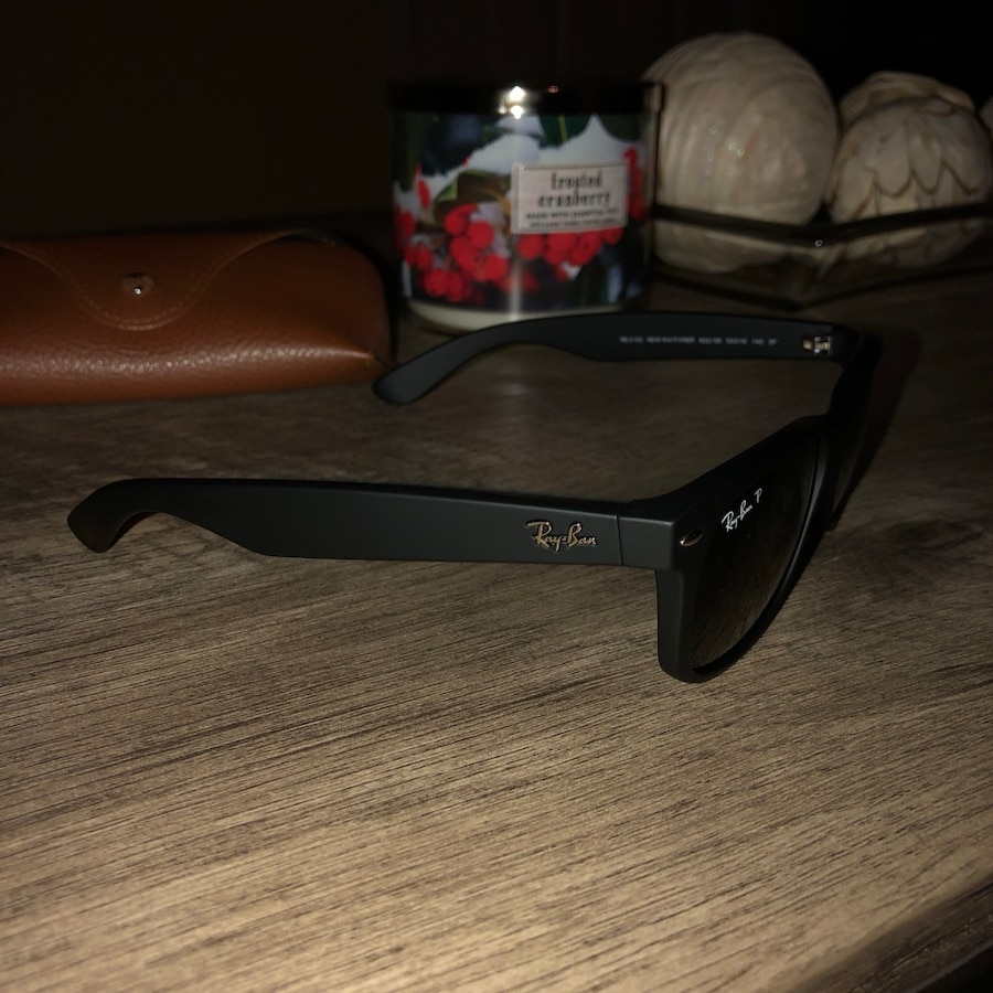 Ray•Ban New Wayfarer | Polarized | Matte Black |