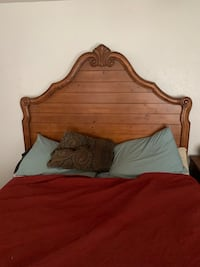 Wood Bed Frame (queen size)