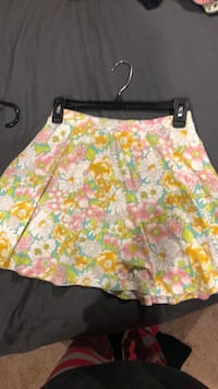 yellow and white floral skirt Port Jefferson, 11777