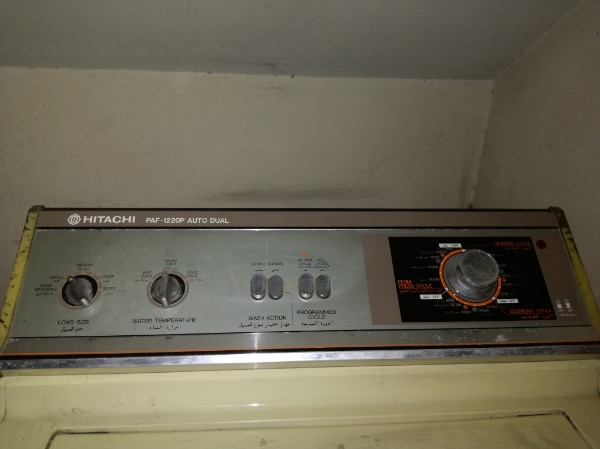 Hitachi automatic imported metal body washing machine for sale