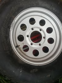 gray 5-lug car wheel with tire Falls Church, 22046