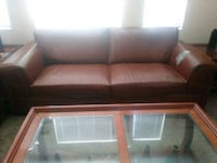 2 large leather couches Las Vegas, 89113
