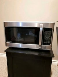 stainless steel and black microwave oven Guelph, N1K 1R9