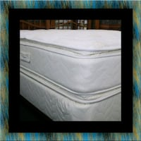 Twin mattress double pillowtop with box spring Falls Church, 22041