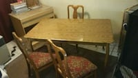 Dining room table,  4 chairs. Las Vegas, 89119