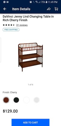 Changing table Grove City, 43123