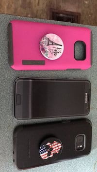 Two black and pink smartphone cases Live Oak, 32060
