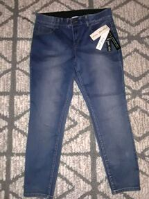 Womens Tribal Jean's size 14 in retro blue