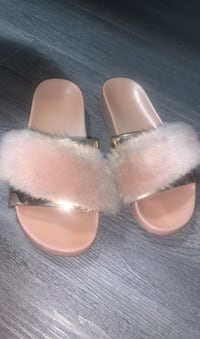 Aldo Fur Slides/Slippers