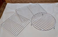 Three Cooling Racks for your Baking - LIKE NEW CONDITION  Coquitlam, V3K 1H2